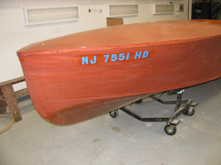 Restoration antique boat - 1950 Chris Craft Runabout