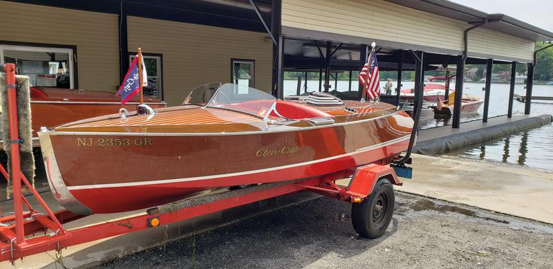 1940 16' Chris Craft Special Racing Boat