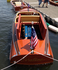 1940 17' Chris Craft Deluxe Runabout Barrelback