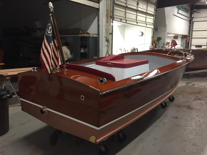 1953 17' Chris Craft Sportsman, KBL 131HP 6 Cylinder Engine