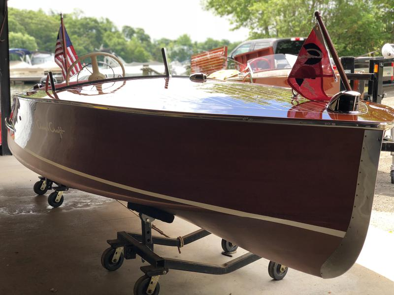 1954 16' Chris Craft Racing Runabout