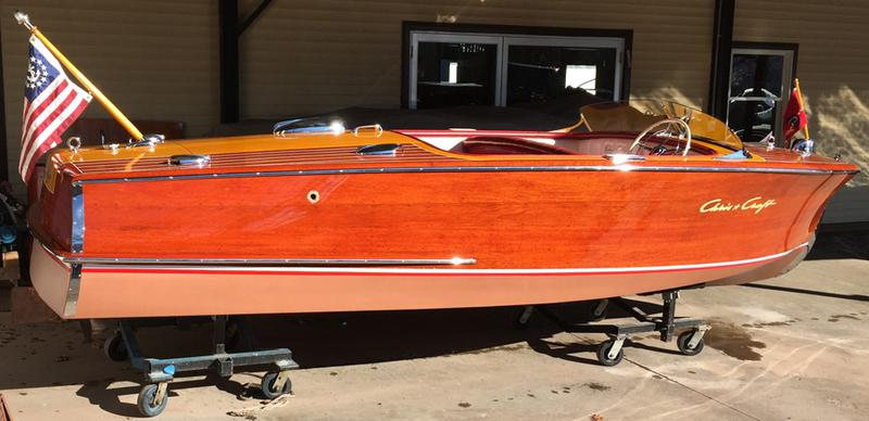 1950 Chris Craft Riviera 18'