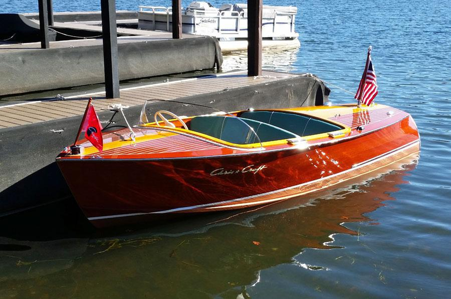 1957 17' Chris Craft Custom Runabout